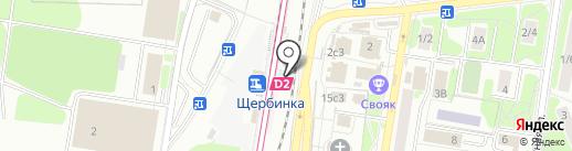 Агентство ЖЕЛДОРПРЕСС-ГП на карте Щербинки
