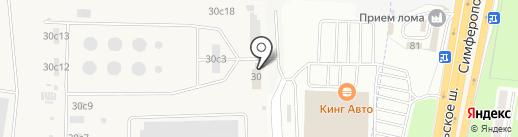 Нефтепродуктсервис на карте Щербинки