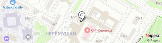 Газпром на карте Москвы
