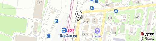 Связной на карте Щербинки