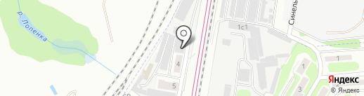 ФЮС на карте Щербинки