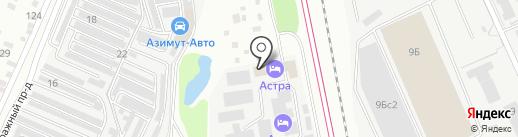 Водабур на карте Подольска