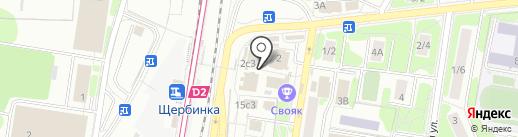 Компания по аренде помещений на карте Щербинки