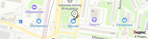 Строй Вест на карте Щербинки