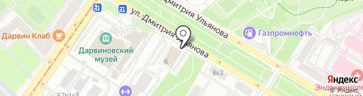 Лунный Свет на карте Москвы