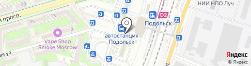 Вегус, ЗАО на карте Подольска