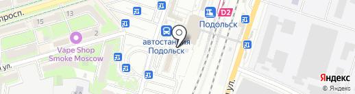 Флокс на карте Подольска