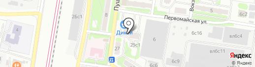 Веритас на карте Щербинки