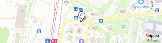 Медиа-Селект на карте Щербинки