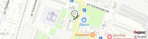 Подолье на карте Подольска