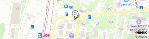 Магазин хлебобулочных и кондитерских изделий на карте Щербинки