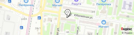 Пинта на карте Щербинки
