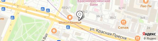 Магазин женского белья на карте Москвы