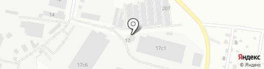 Автэк на карте Климовска