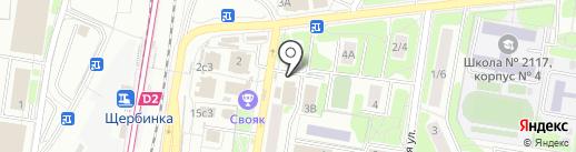 Союзпечать на карте Щербинки