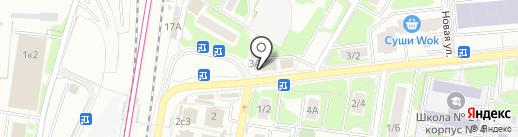 Святогор-М на карте Щербинки