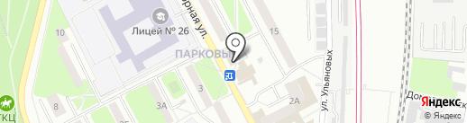 Платежный терминал, КБ Индустриальный Сберегательный Банк на карте Подольска