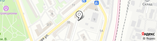 Табак на карте Подольска