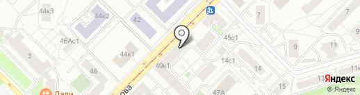 Вико-р на карте Москвы