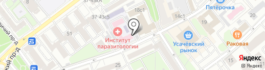 Новый взгляд на карте Москвы
