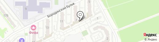 Бриз на карте Подольска