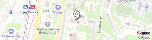 ЦВД на карте Щербинки