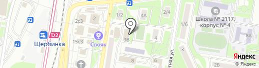 СИНЕРГИЯ на карте Щербинки