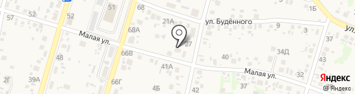 Магазин ритуальных услуг на карте Новороссийска