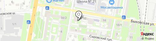 Магазин женского белья на карте Подольска