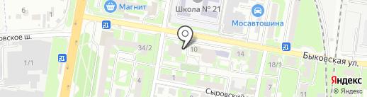 Мобил Элемент на карте Подольска