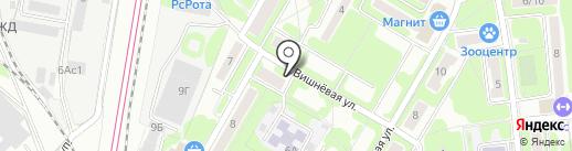 Мурад на карте Щербинки