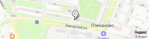 Магазин автозапчастей на карте Плеханово