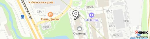 T & V на карте Москвы