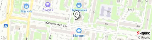 Верный на карте Щербинки
