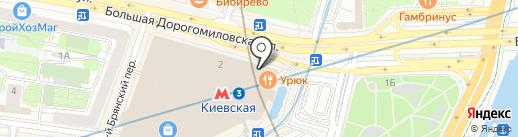 Burger & Pizzetta на карте Москвы