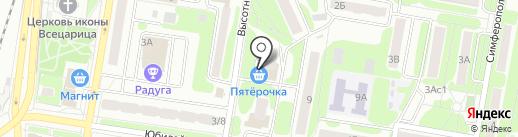 Ремонтная мастерская на карте Щербинки