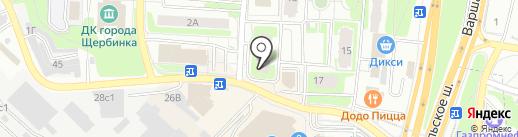 Фэлконс Электрик на карте Щербинки