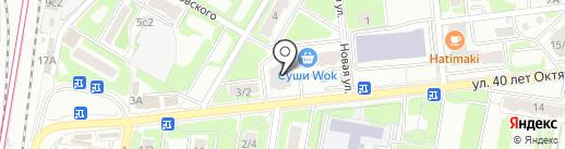 Белая звезда на карте Щербинки