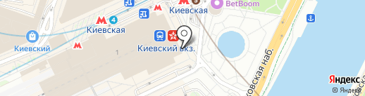 Добродар на карте Москвы