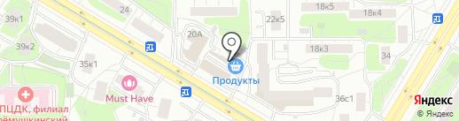 Маркет 7 на карте Москвы