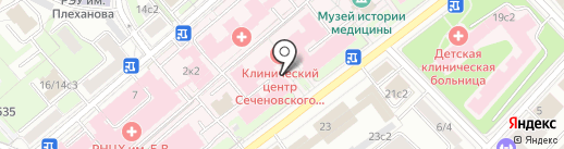 Центр крови на карте Москвы