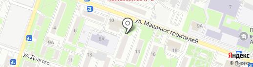 Магазин садово-хозяйственных товаров на карте Подольска