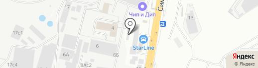 Техцентр на карте Щербинки