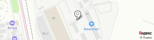 Клейжелатин-АТ на карте Подольска