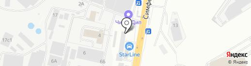 Гидросеть на карте Щербинки