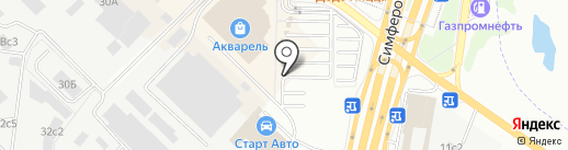 RU-салют на карте Щербинки