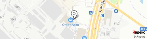 ЦЕНТР СТРАХОВАНИЯ на карте Щербинки