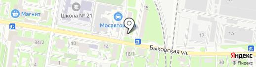 Платежный терминал на карте Подольска