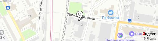 Визан 2000 на карте Подольска