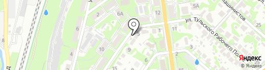 ТРАНЗИТ на карте Тулы